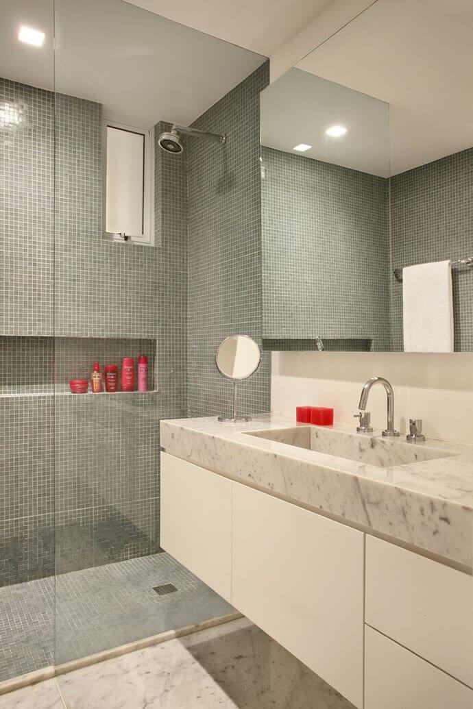 Decoração de Banheiro Pequeno 13 Segredos Para Você Impressionar as Visitas  -> Decoracao De De Banheiro