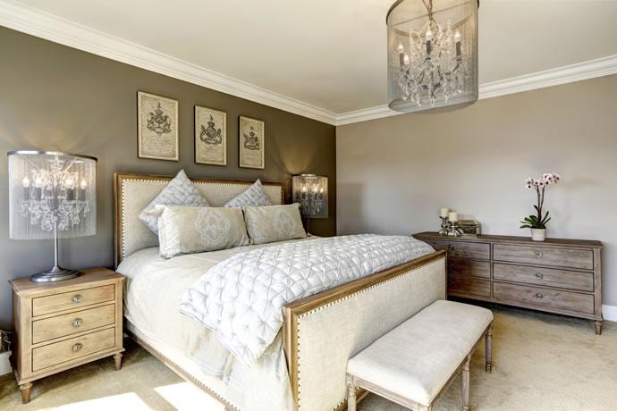 9 dicas de decora o de quarto de casal para deix lo lindo e aconchegante - Slaapkamer lay outs ...