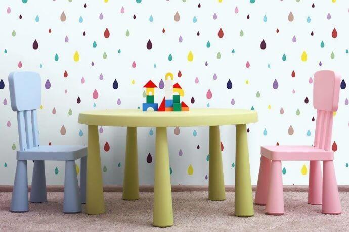 Benefícios em instalar papel de parede no quarto infantil